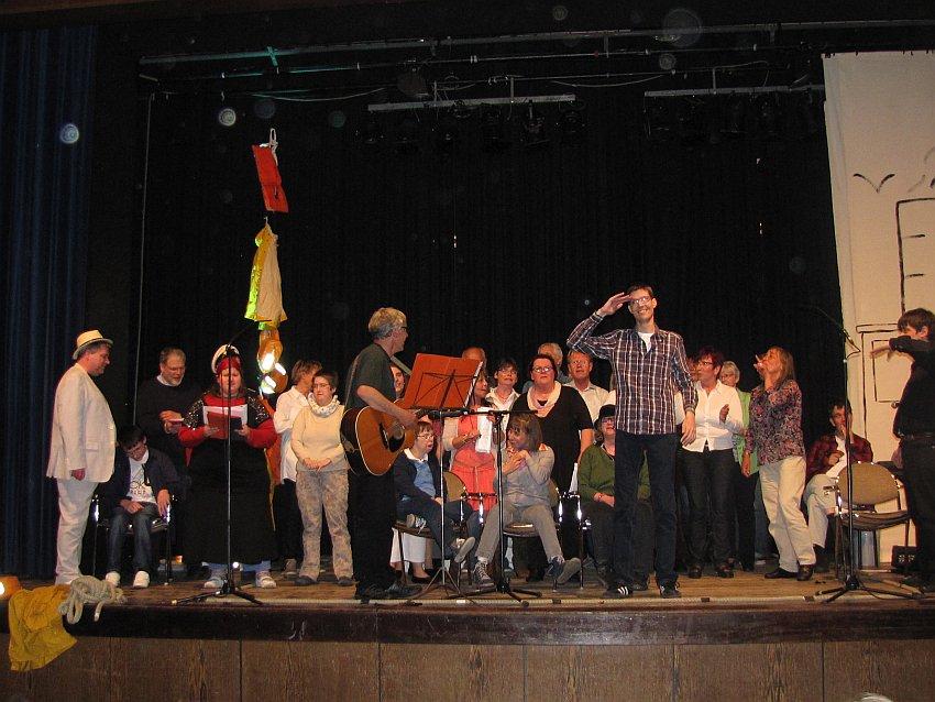 Waltrop - Chor nach der Show