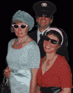 Theater und Musik der 50er Jahre mit Blinden und Sehenden