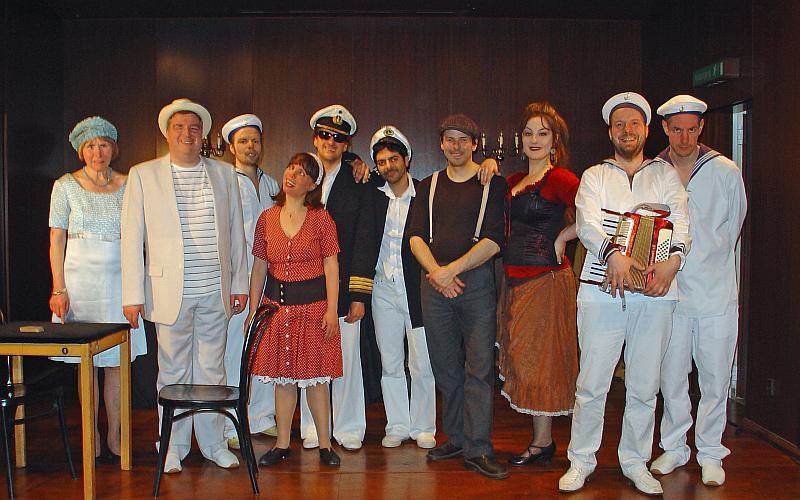 Bild: Die Crew von Blinde Passagiere