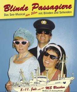 Plakat Blinde Passagiere